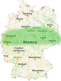 niemcy obszar